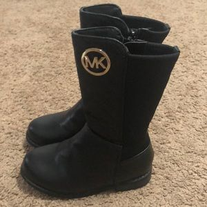 MK toddler boots